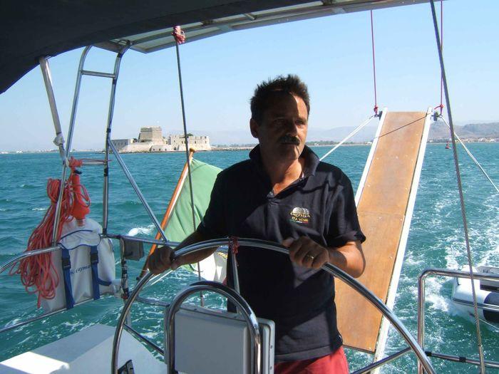 roberto lo skipper di Alisea