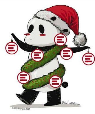 Fare i regali di Natale al negozio di Emergency a Roma (2016-12-01)