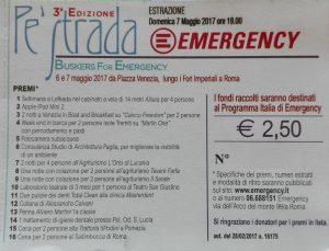 lotteria Pe Strada 2017 Emergency
