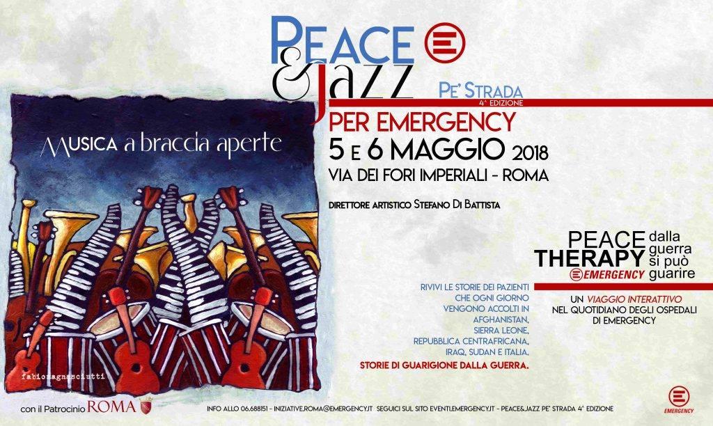 Biglietti vincenti della lotteria Emergency Peace & Jazz Pe Strada 2018