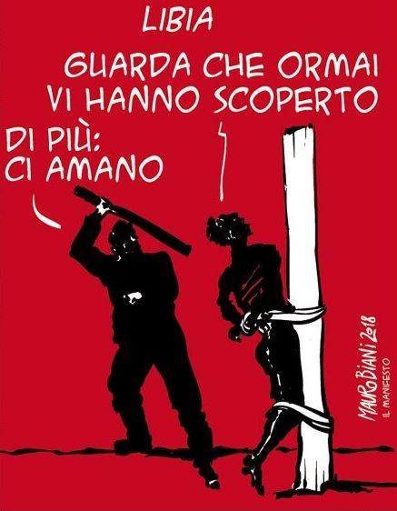22 persone al buio in una cella sotterranea di Triq al Sikka. L'Italia lo sa?