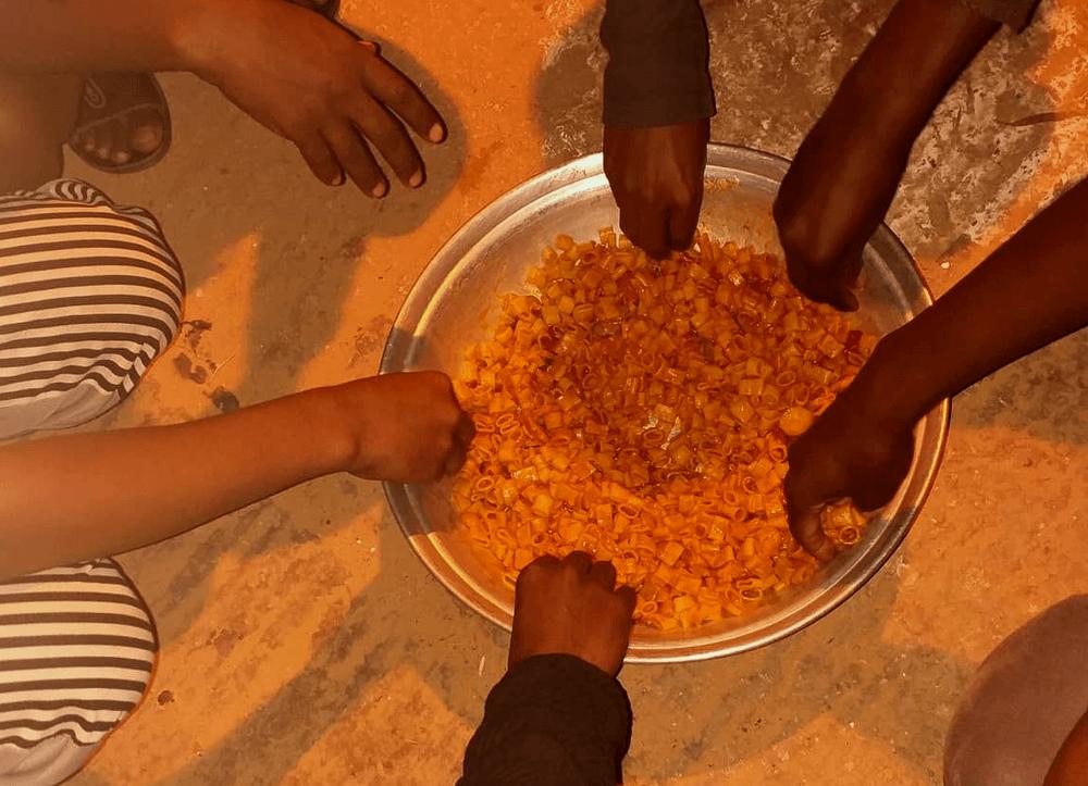 cibo nei lager libici