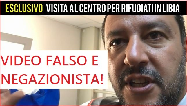 Falso video di Salvini