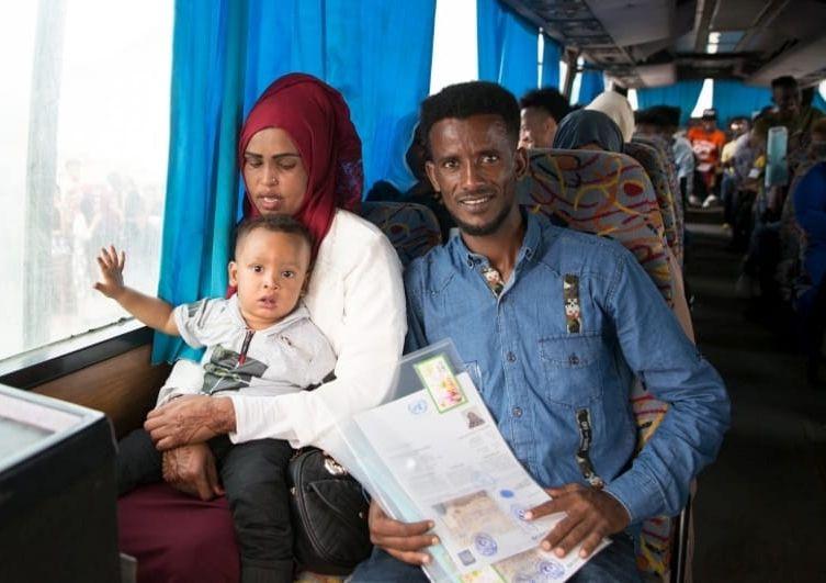bambino scudo umano in Libia