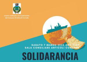 Solidarancia incontra i progetti SPRAR di Anticoli Corrado e Roviano (RM) @ Anticoli Corrado, sala consiliare