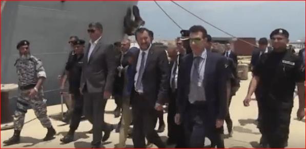 Matteo Salvini in Libia